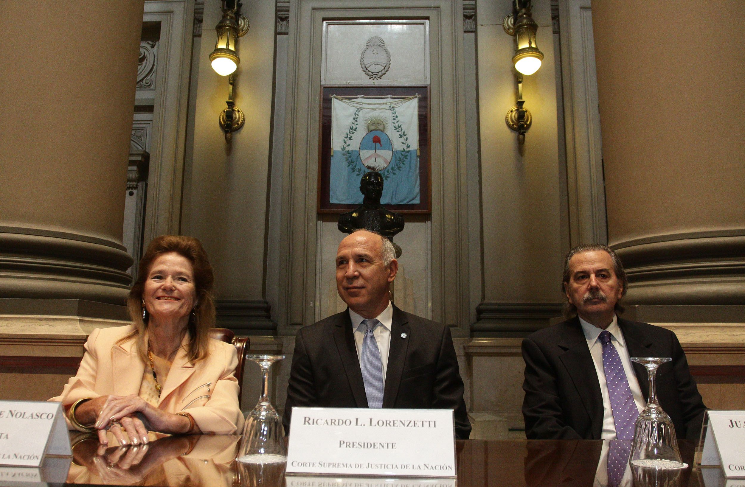 Lorenzetti llamó a combatir la narco criminalidad, la corrupción y la impunidad