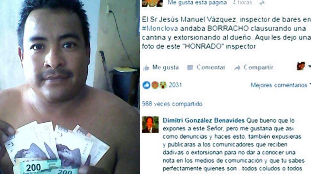 Escándalo en México por el inspector de bares que fue a trabajar borracho