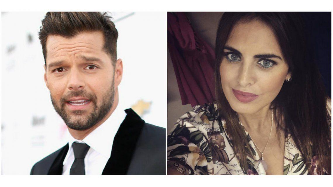 Silvina Luna, cerca de Ricky Martin: el encuentro en Rosario