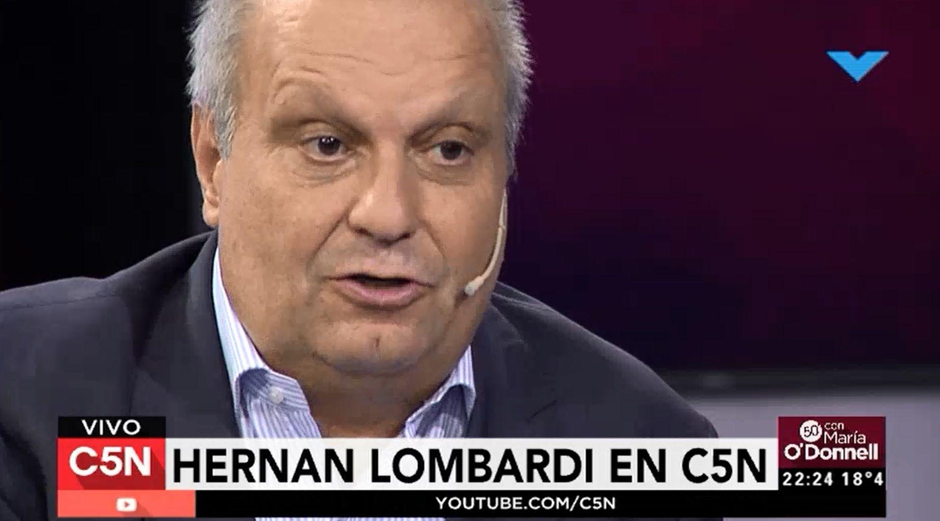 Lombardi en C5N: La palabra relato está desvirtuada y ha perdido valor