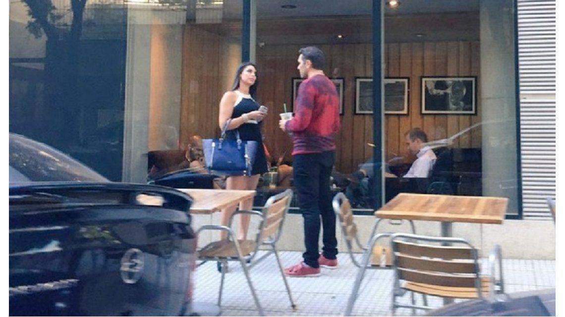 Detalles del reencuentro entre Matías Alé y Sabrina Ravelli