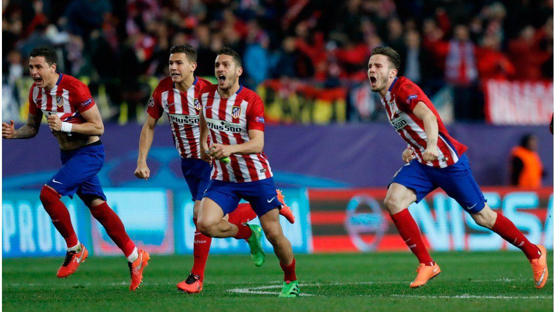 El Atlético de Simeone venció al PSV por penales y avanzó en la Champions