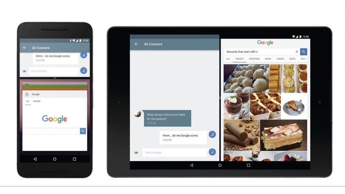 Paso a paso, conocé todas las novedades de la versión N de Android