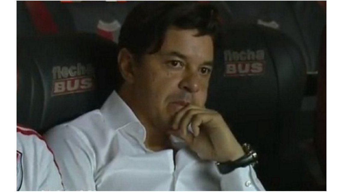 Marcelo Gallardo, en el peor momento desde que llegó a River