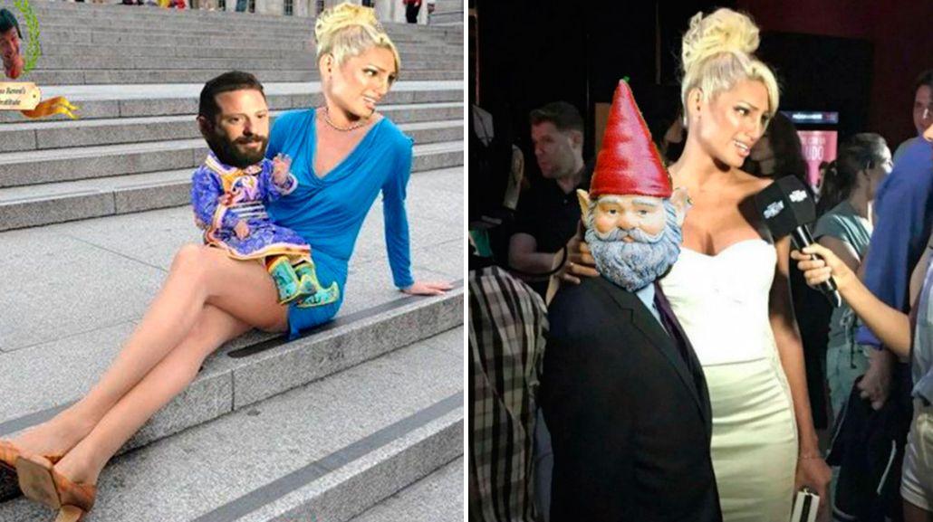 Los divertidos memes por la diferencia de altura entre Vicky Xipolitakis y José Ottavis