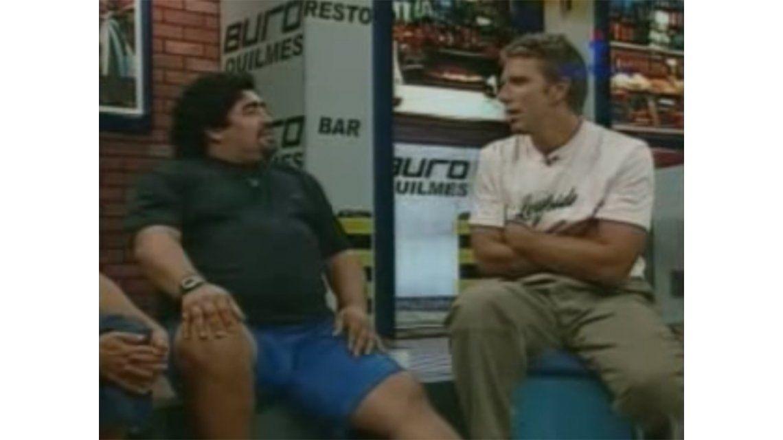 VIDEO: La divertida anécdota de Diego Maradona sobre Roberto Perfumo