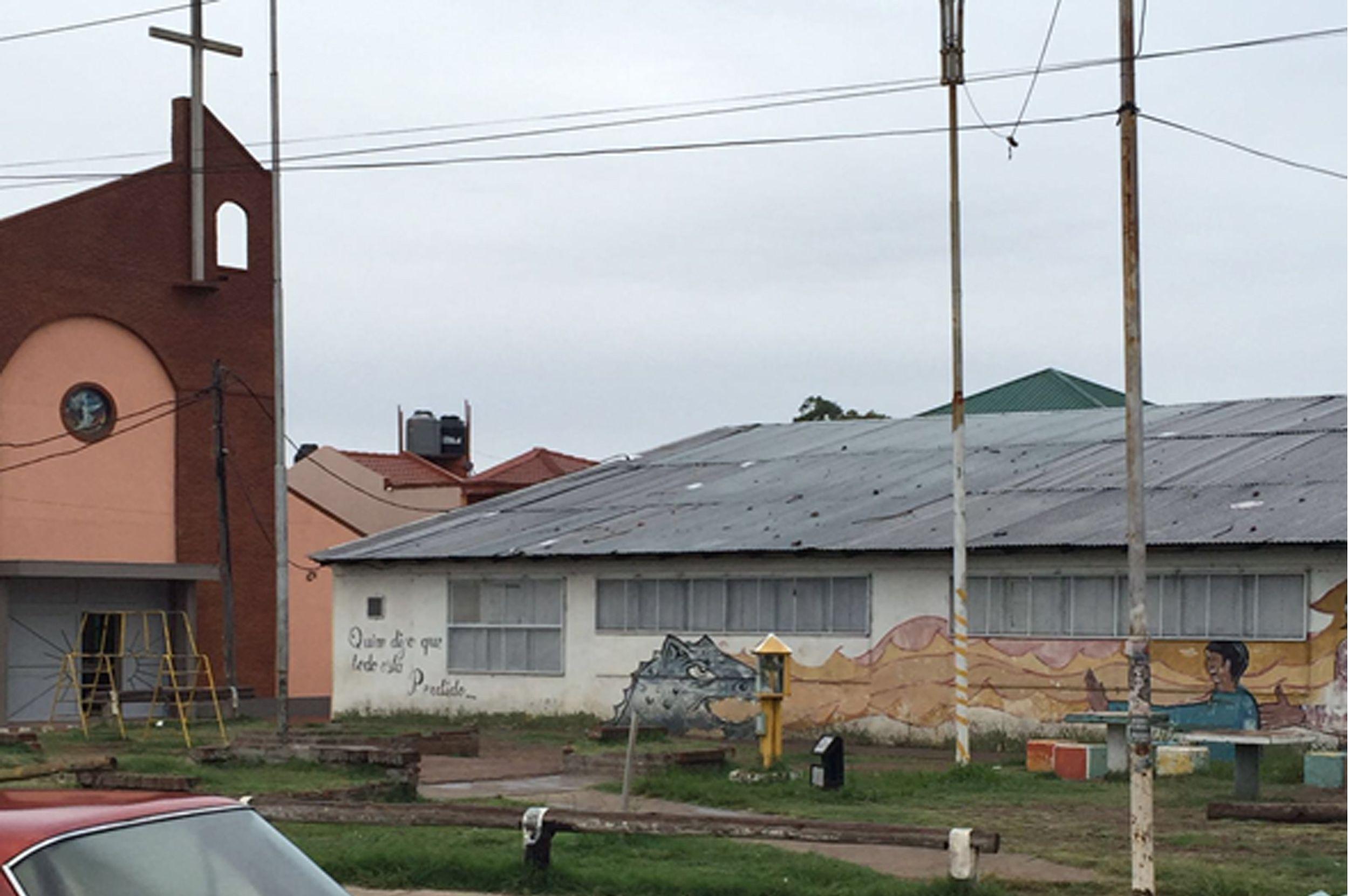 Centro cultural donde funciona la Banda Sinfónica Barrial