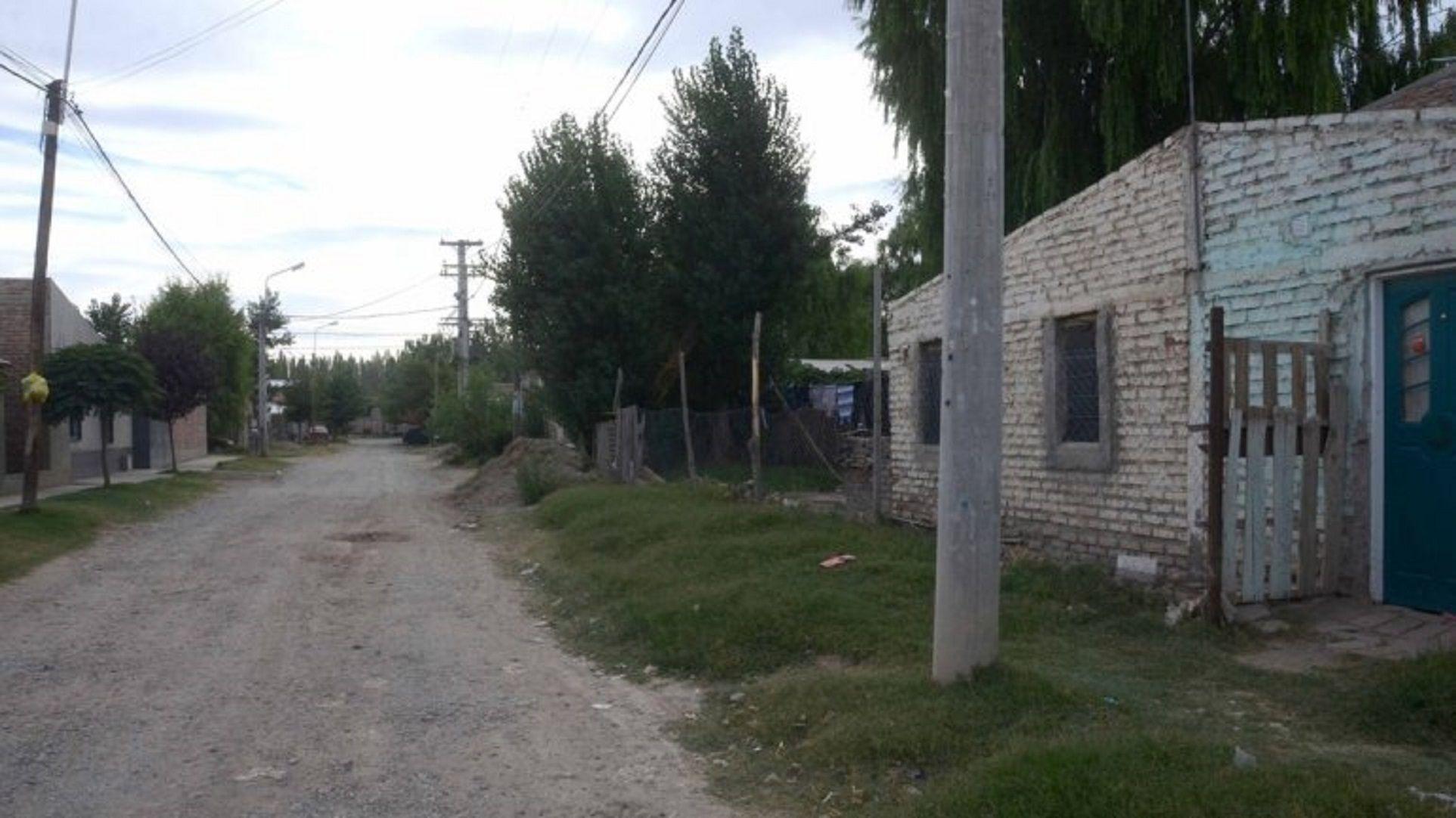 Casa donde se registró la discusión y el crimen de Delmar
