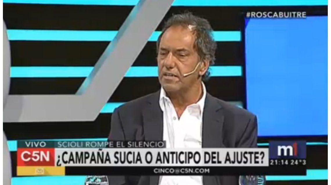 Daniel Scioli, en C5N: La inflación está muy por encima del 40 por ciento
