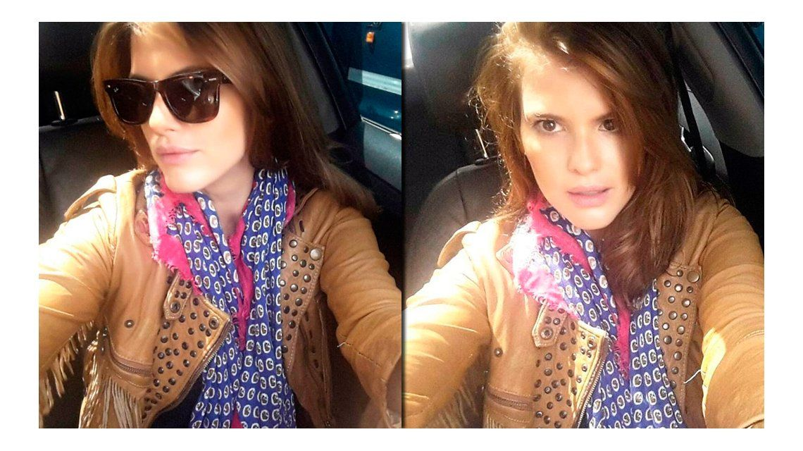 El cambio de look de María del Cerro: de rubia a morocha