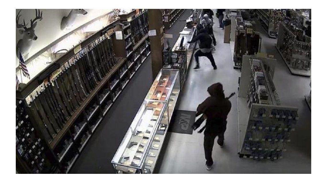 Golpe comando: robaron decenas de armas en Texas