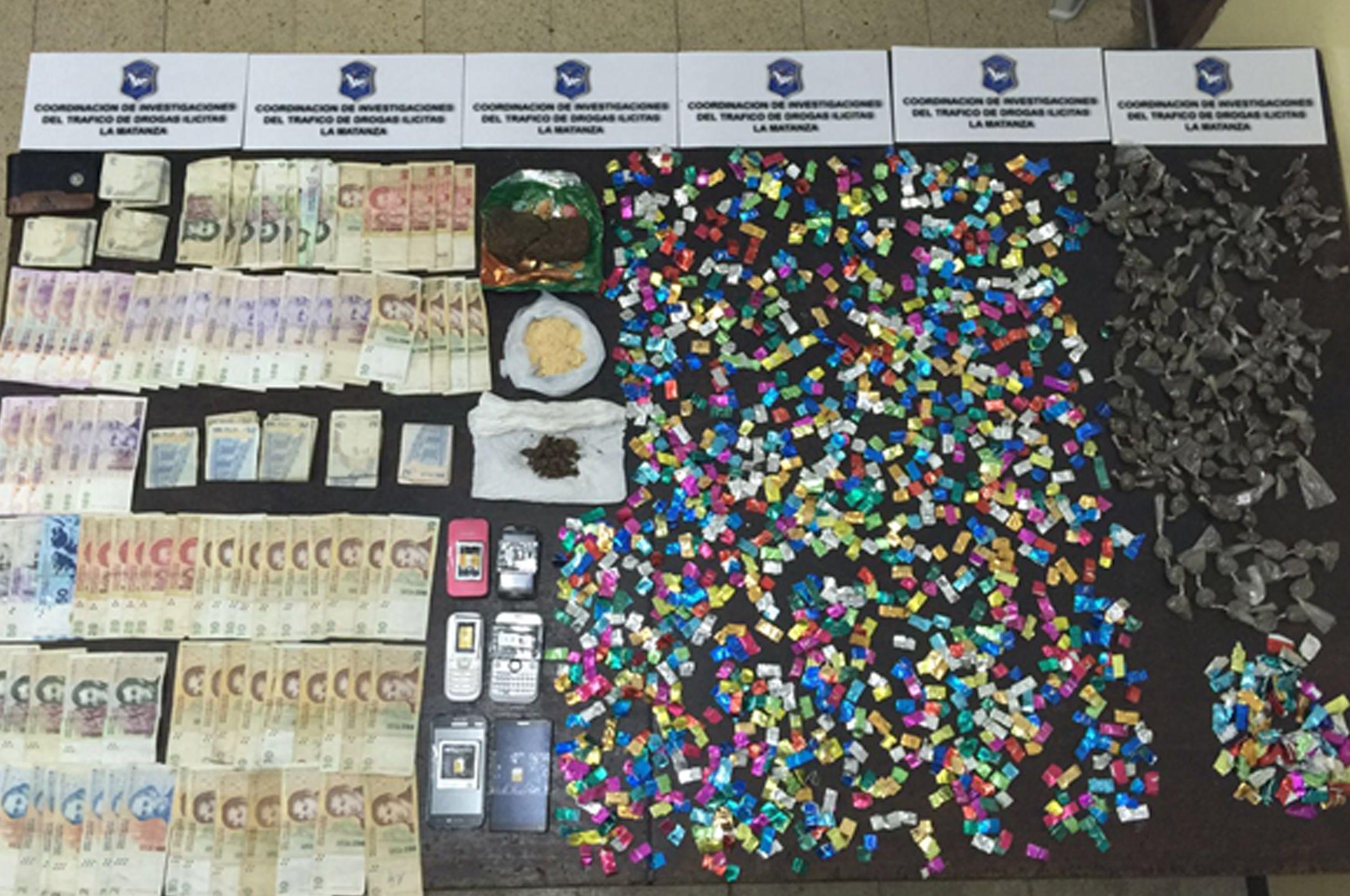 Cae banda narco en Villa Palito: secuestraron más de 2200 dosis de paco