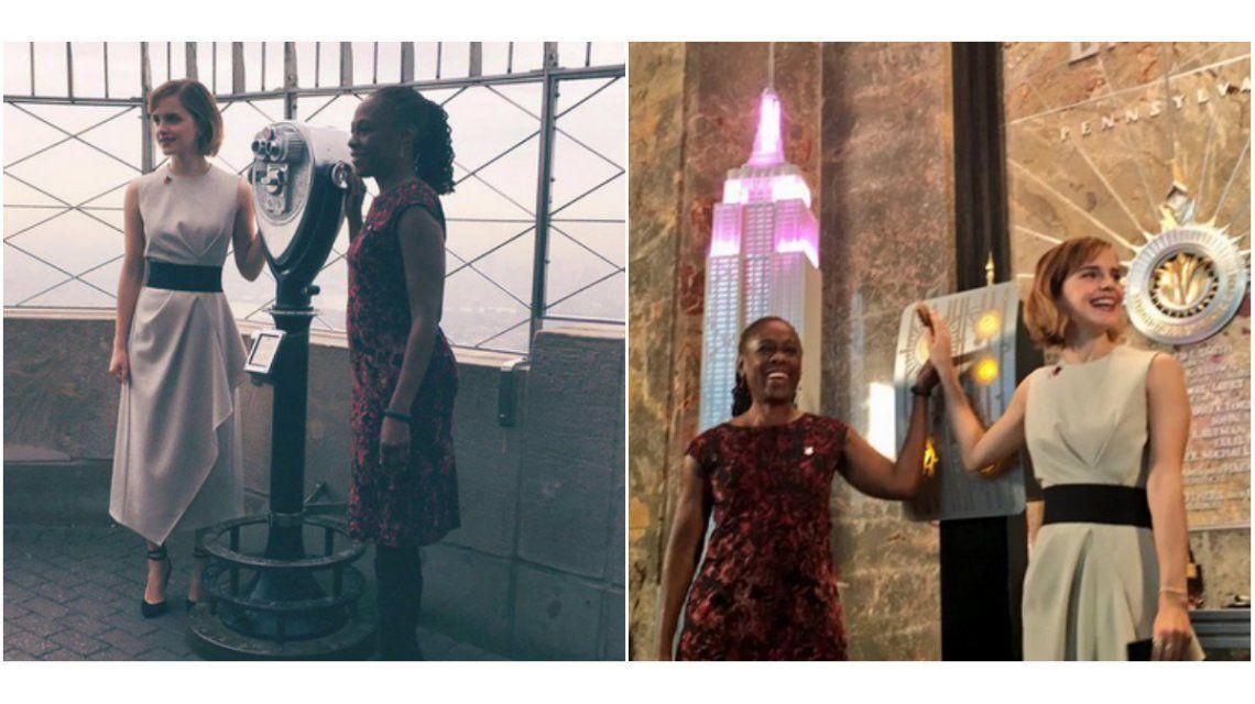 La acción de Emma Watson en Nueva York por el Día de la Mujer