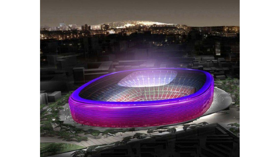 Así será el nuevo estadio del Barcelona, que albergará a 105 mil espectadores