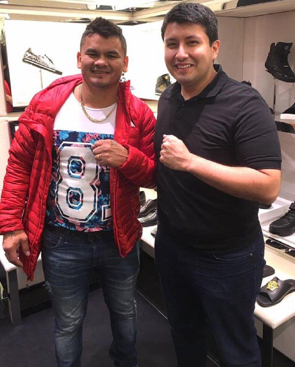Una foto que se volvió viral en redes sociales muestra al Chino Maidana muy excedido de peso