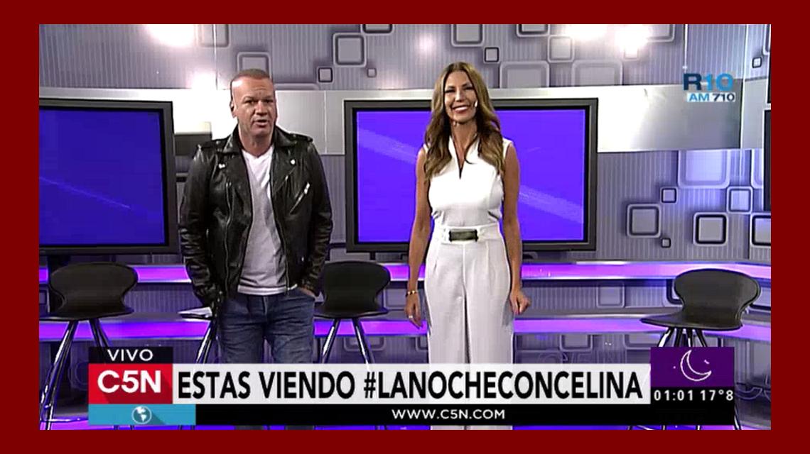 Celina Rucci debutó en C5N como conductora de La Noche