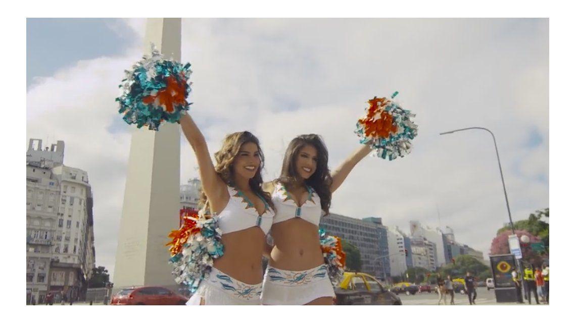 ¡Atención, chicas! Un equipo de la NFL busca porristas en Argentina