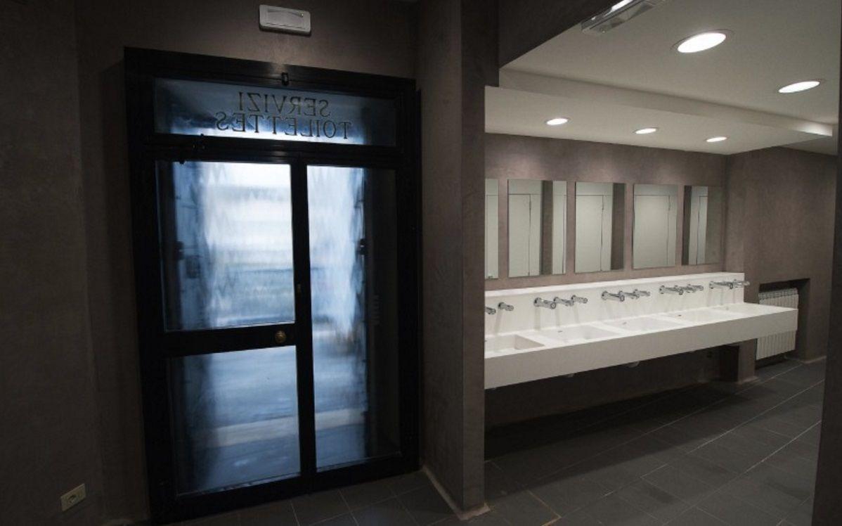 Como en el Vaticano: duchas para personas en situación de calle