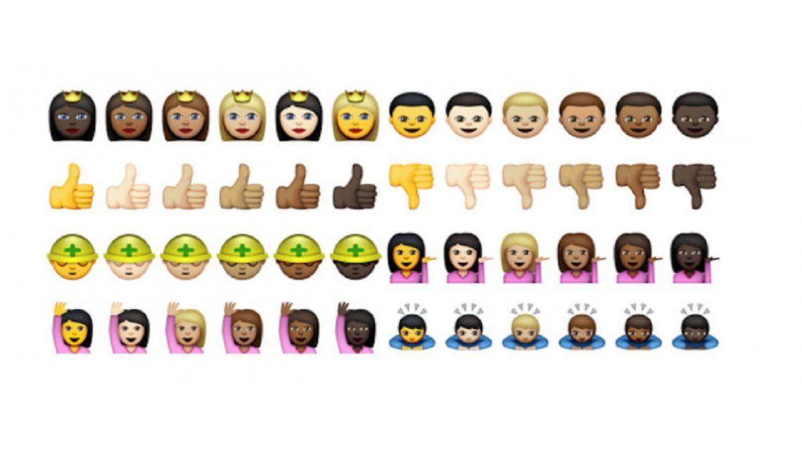 #DíaDeLaMujer: La diferencia entre los emojis para ellas