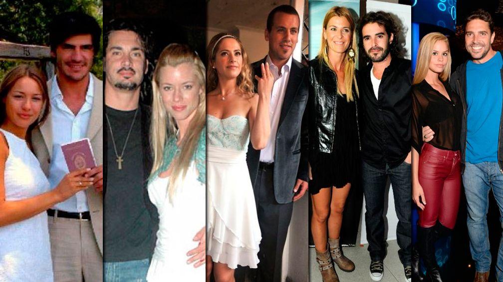 Amor y escándalo: estos fueron los casamientos express de los famosos