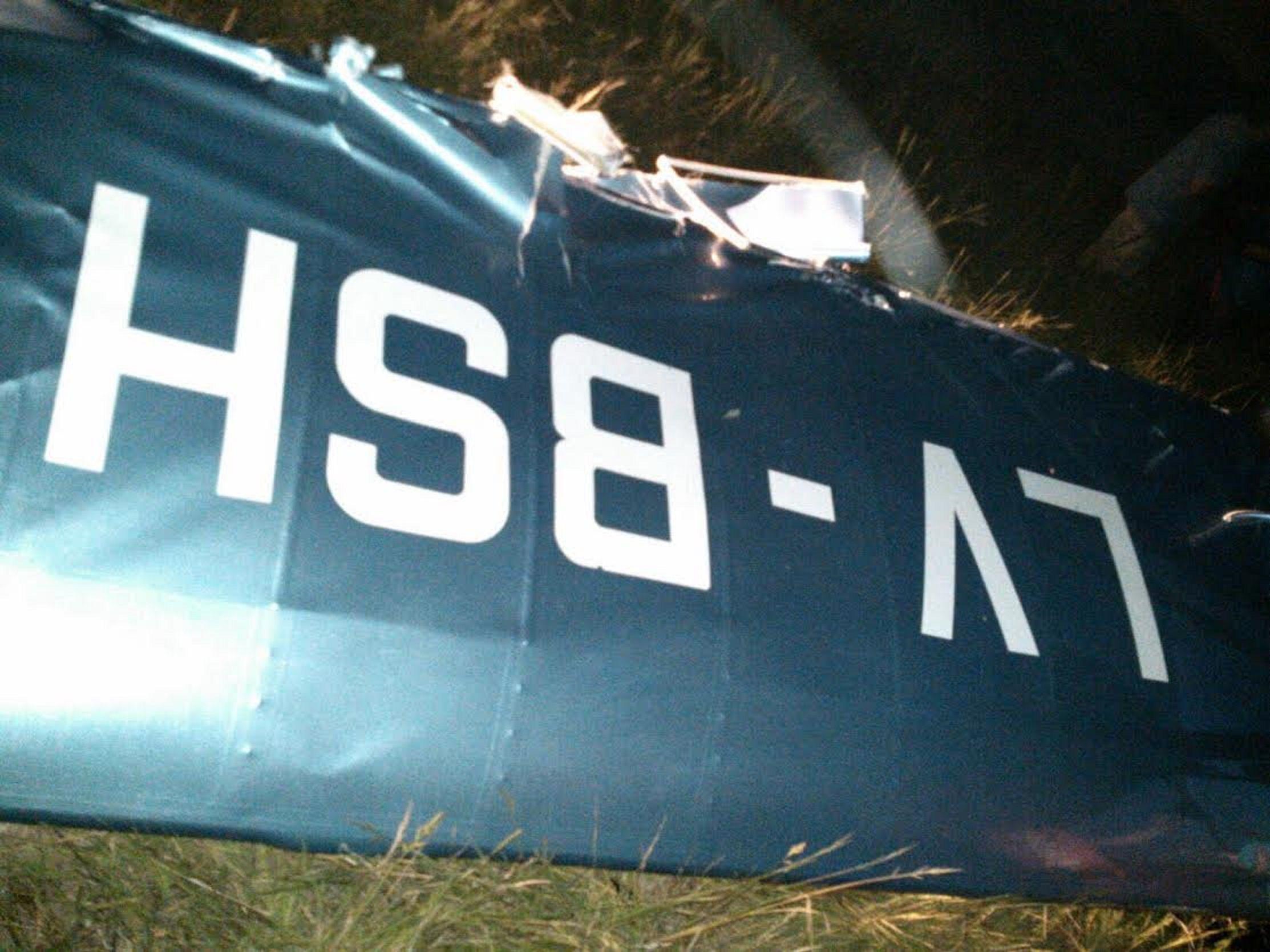 Chocaron dos avionetas en General Rodríguez: tres muertos y un herido