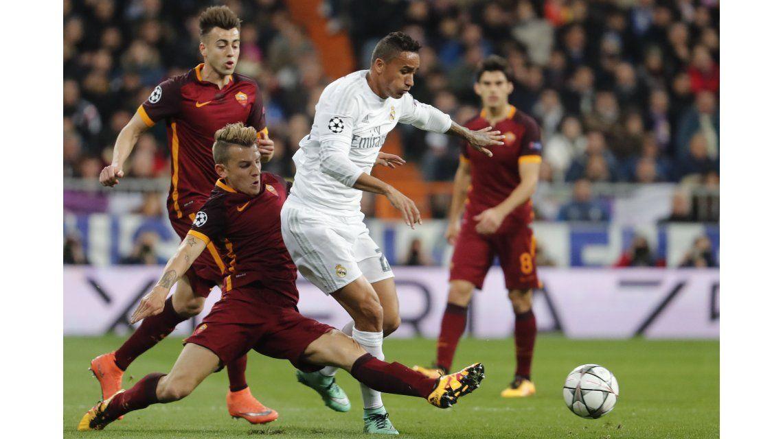 Real Madrid cumplió ante la Roma y está en cuartos de final de la Champions