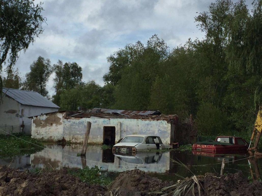 El agua tapó a Villa Paranacito y preocupa su recuperación