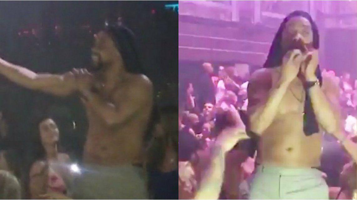 Así fue el striptease de una estrella de Hollywood en un boliche de Miami