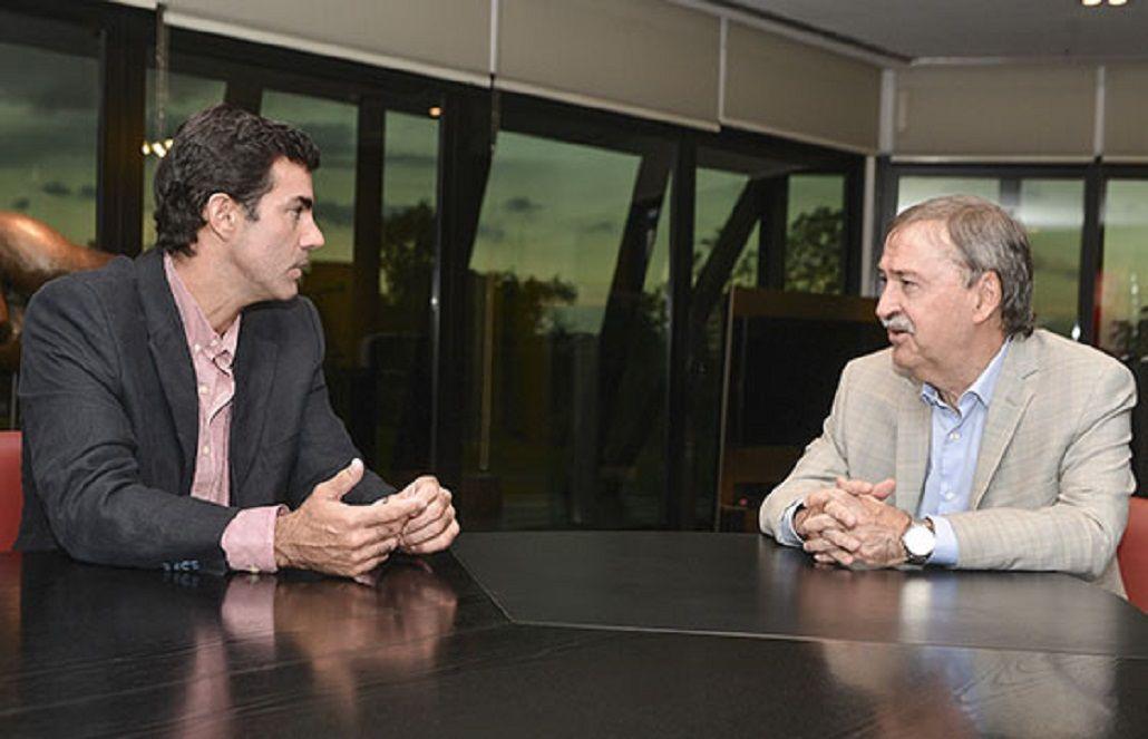 Urtubey analizó los ejes de desarrollo del país con el gobernador de Córdoba
