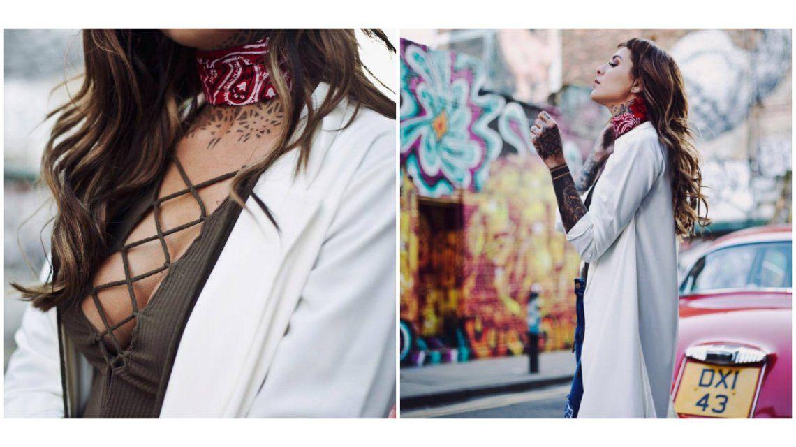 La campaña de moda de Candelaria Tinelli en Londres
