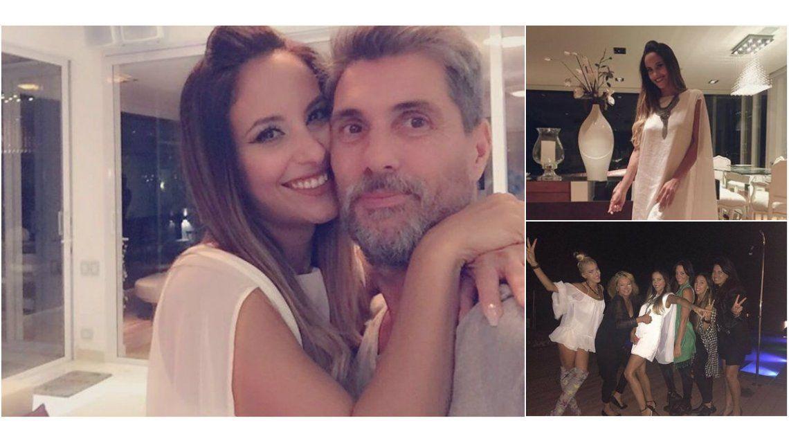 El divertido festejo de cumpleaños de Lourdes Sánchez