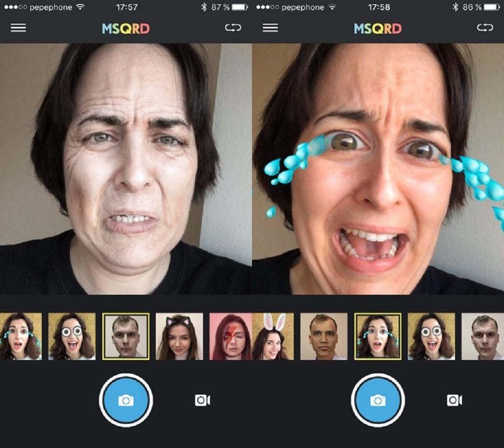 MSQRD, la app que es furor, llega a Android