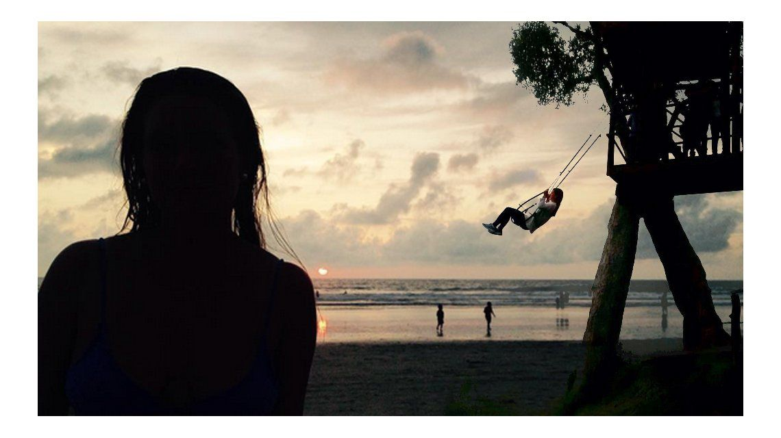 Las conmovedoras fotos y los deseos que expresaba Marina en Instagram