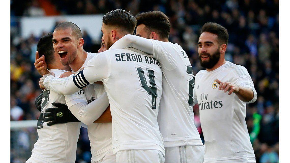 Real Madrid aplastó como local por ¡7 a 1! al Celta