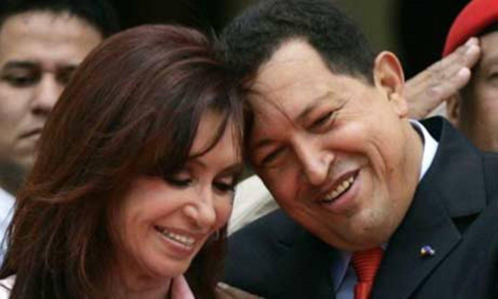 Cristina Kirchner recordó a Hugo Chávez en Twitter