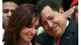 Cristina recordó a Hugo Chávez en Twitter