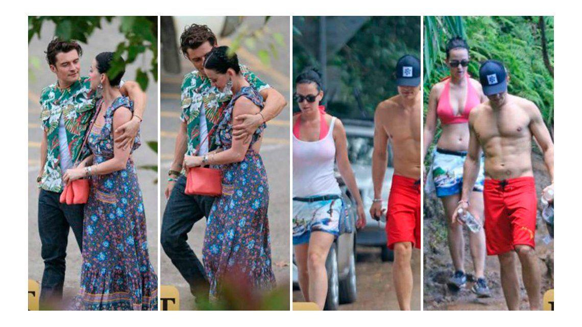 Katy Perry, muy enamorada de Orlando Bloom, el actor de Piratas del Caribe: las fotos que los comprometen