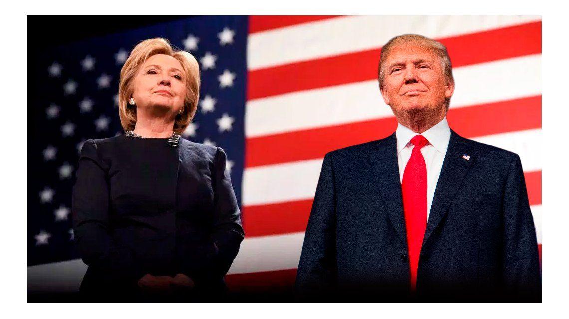 Todos los sondeos de intención de voto muestran un empate técnico entre los candidatos republicano y demócrata