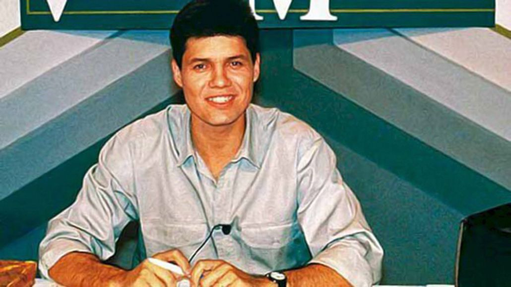 La foto vintage de Marcelo Tinelli, a 26 años del inicio de Videomatch