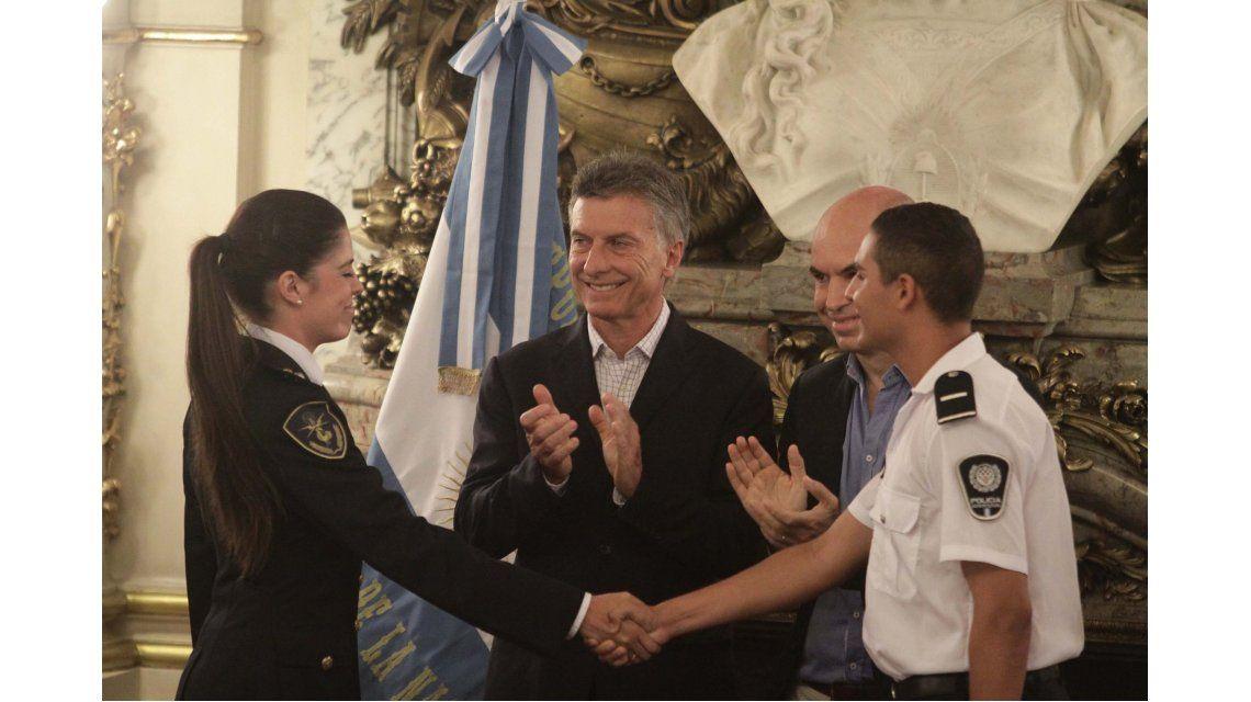 Macri, a la Policía Federal: Necesitamos que los argentinos se sientan seguros