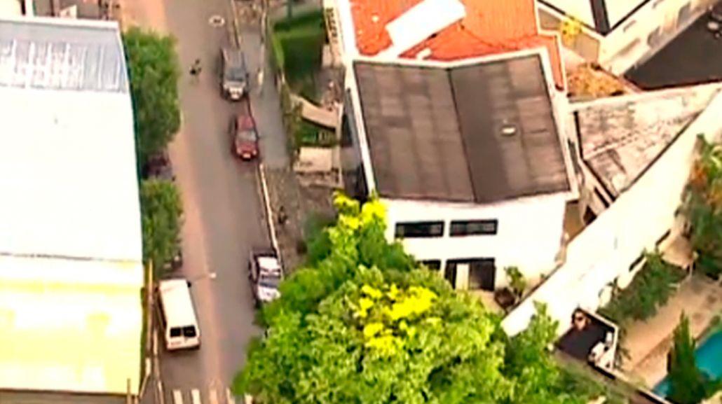 El allanamiento de la casa de Lula, en imágenes