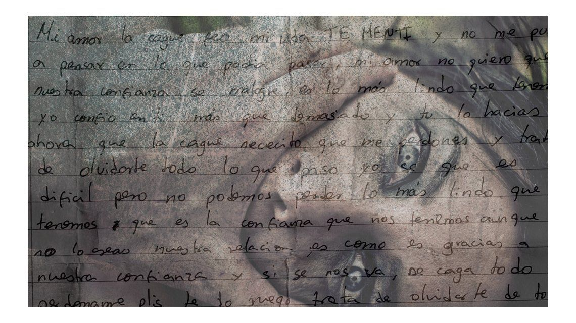 Cartas de amor de hombres golpeadores que piden perdón