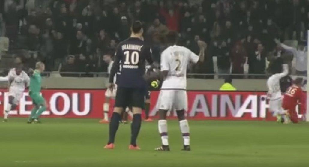 Y encima perdió: el bailecito que enfureció al sueco Zlatan Ibrahimovic