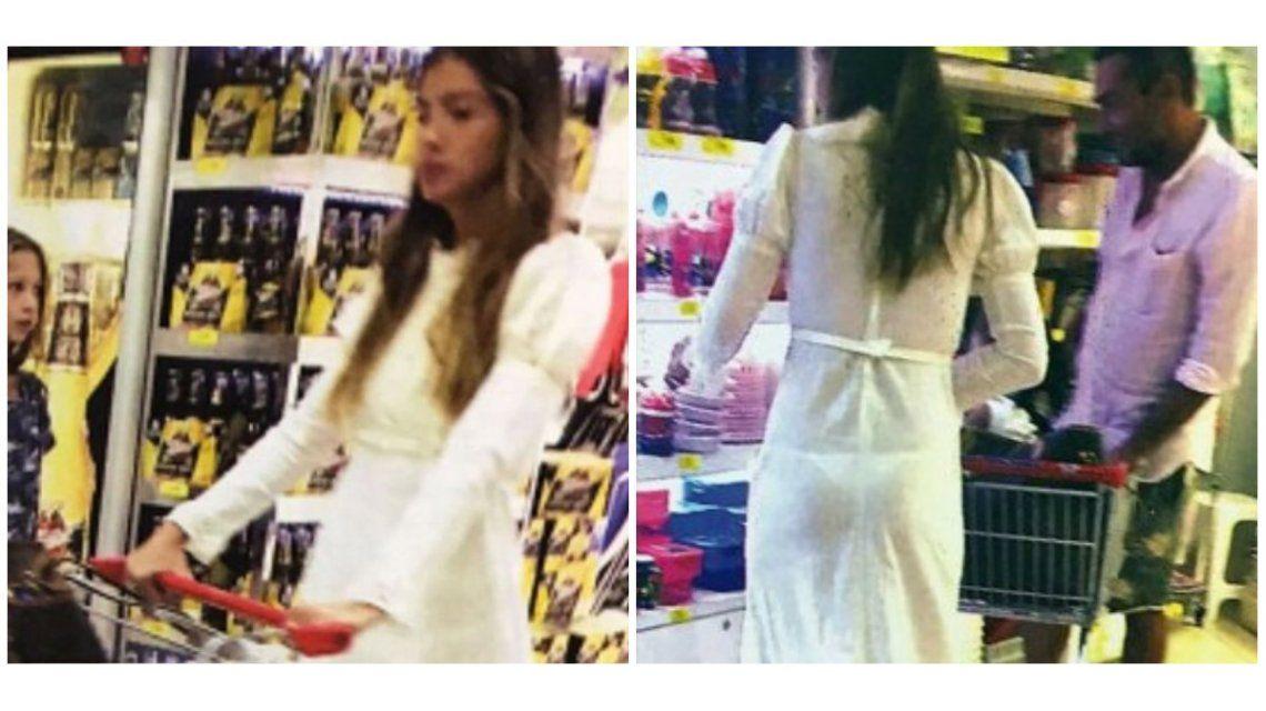El excéntrico look de la China Suárez para ir al supermercado ¡y la opinión de ella!