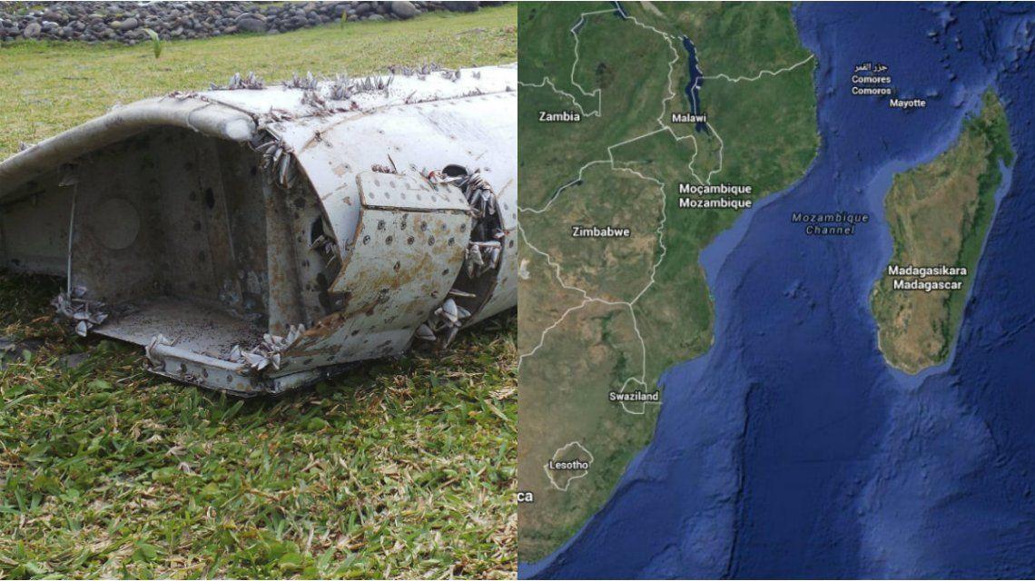 Creen que encontraron más restos del vuelo desaparecido de Malaysia Airlines