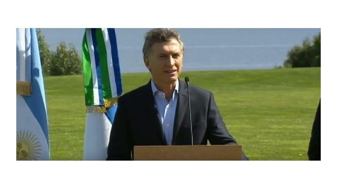 Macri anunció que Obama visitará Bariloche