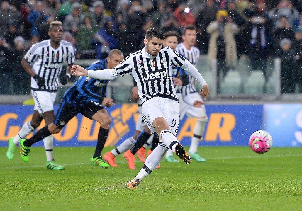Juventus venció a Inter y sigue siendo líder en la Liga de Italia