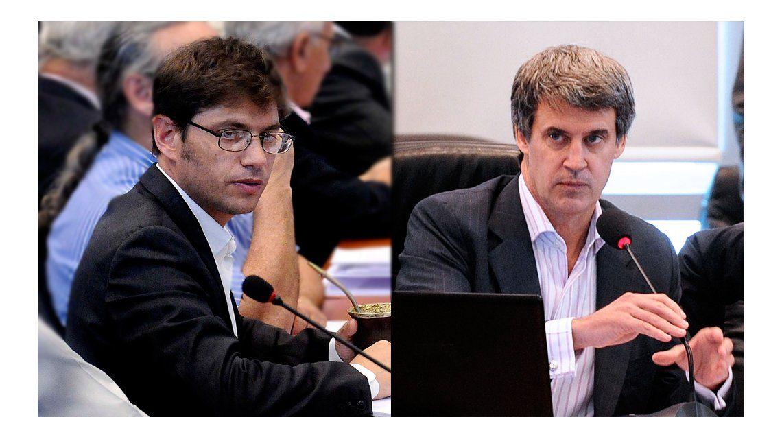 Fuerte cruce entre Prat Gay y Kicillof por el acuerdo con los fondos buitre