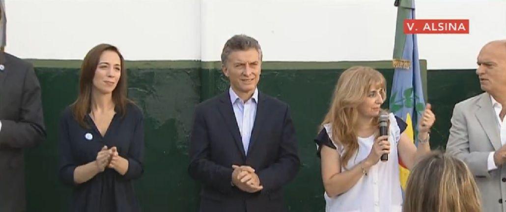 Macri dio inicio al ciclo lectivo 2016 en Provincia junto a Vidal