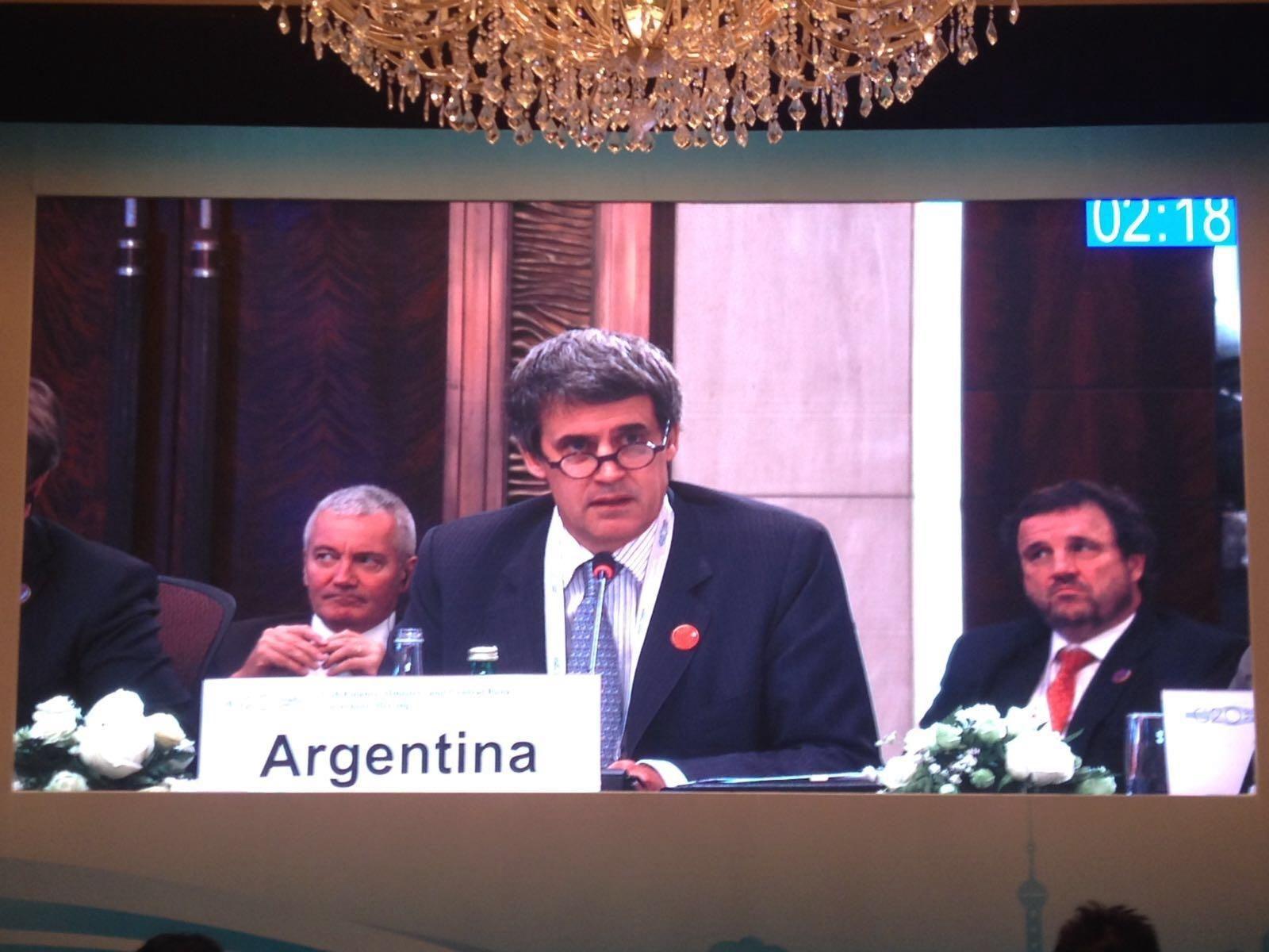 En Shanghai, Prat Gay afirmó que busca insertar a la Argentina en el mercado mundial